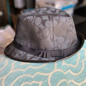 """NEW CONDITION-""""COACH FEDORA HAT""""-Size-SP"""